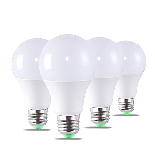 Bombillas LED 7 W A60 E27, 56 W bombillas incandescentes equivalente, 350lm, luz