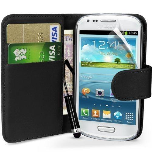 18 opinioni per Mobile_Mania- Custodia a portafoglio con linguetta laterale, in pelle, per