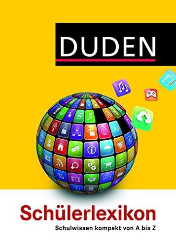 Duden Schülerlexikon (Duden Kinder- und Jugendlexika)
