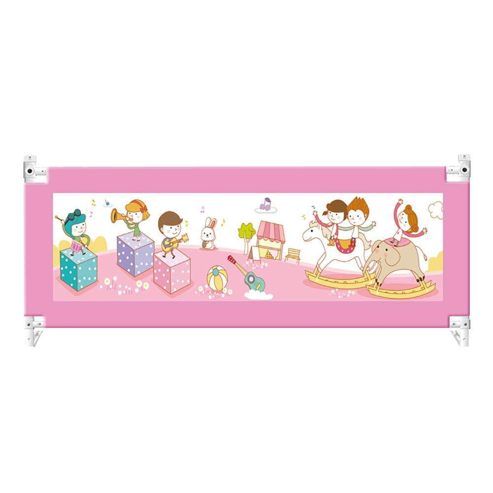 経典 折りたたみベビーベッドレール、子供のための携帯用安全落下防止ベッドサイドレールガード幼児 200cm B07MMFLYM8 Pink、5高さ調節可能、1サイド (色 : Pink, サイズ さいず : 200cm) 200cm Pink B07MMFLYM8, 心斎橋ミュゼ:3257bb69 --- a0267596.xsph.ru
