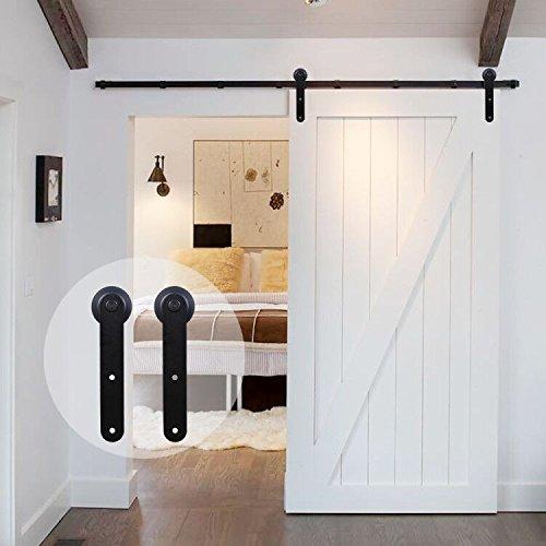 Opinioni per CCJH Binario per porta scorrevole in legno, stile
