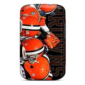 AlainTanielian Samsung Galaxy S3 High Quality Hard Phone Cover Custom Fashion Cleveland Browns Skin [eEv4875EUGt]