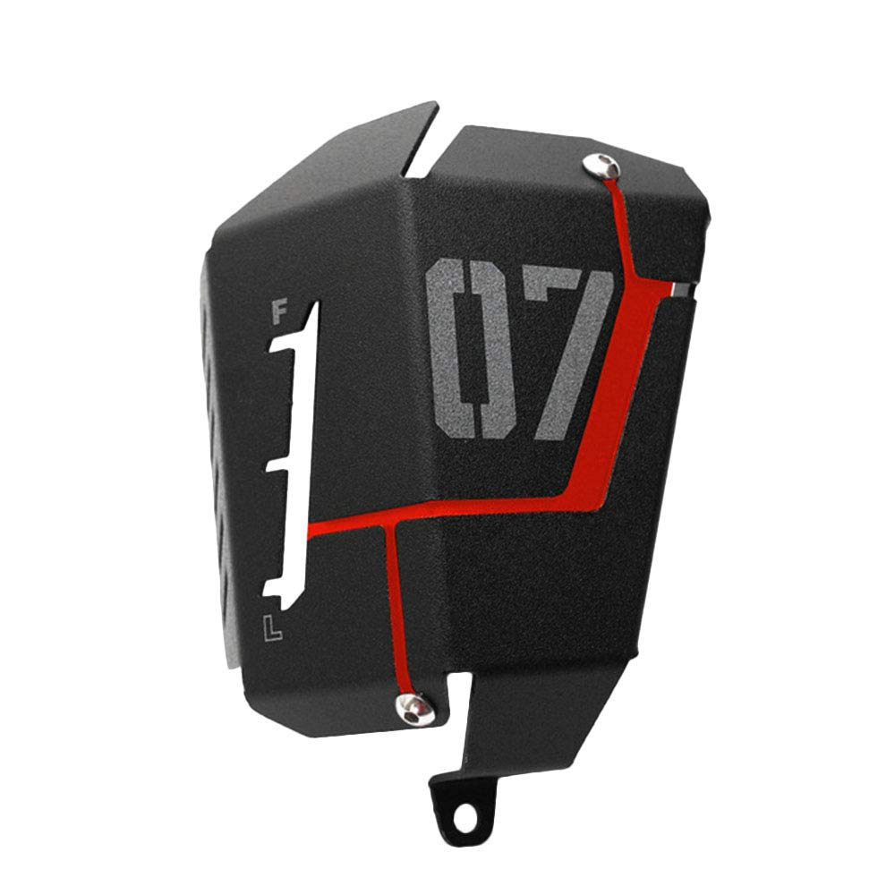 Carrfan MT07 FZ07 Cubierta Protectora del Tanque de Recuperaci/ón de refrigerante para Yamaha MT-07 FZ-07 2014-2019