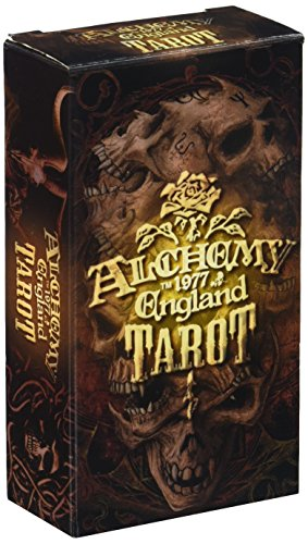 Alchemy 1977 England Tarot Deck (Card Sleeves Skeleton)