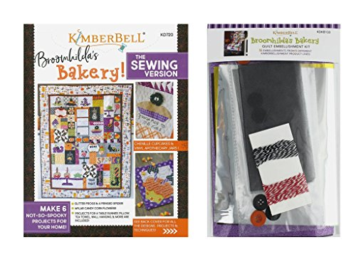 Kimberbell Designs Broomhilda's Sewing Book & Embellishment Kit by Kimberbell Designs