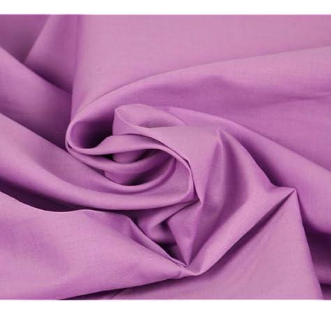 Stich-Stich Punto de algodón Popelin Lila 50 x 150 cm: Amazon.es ...