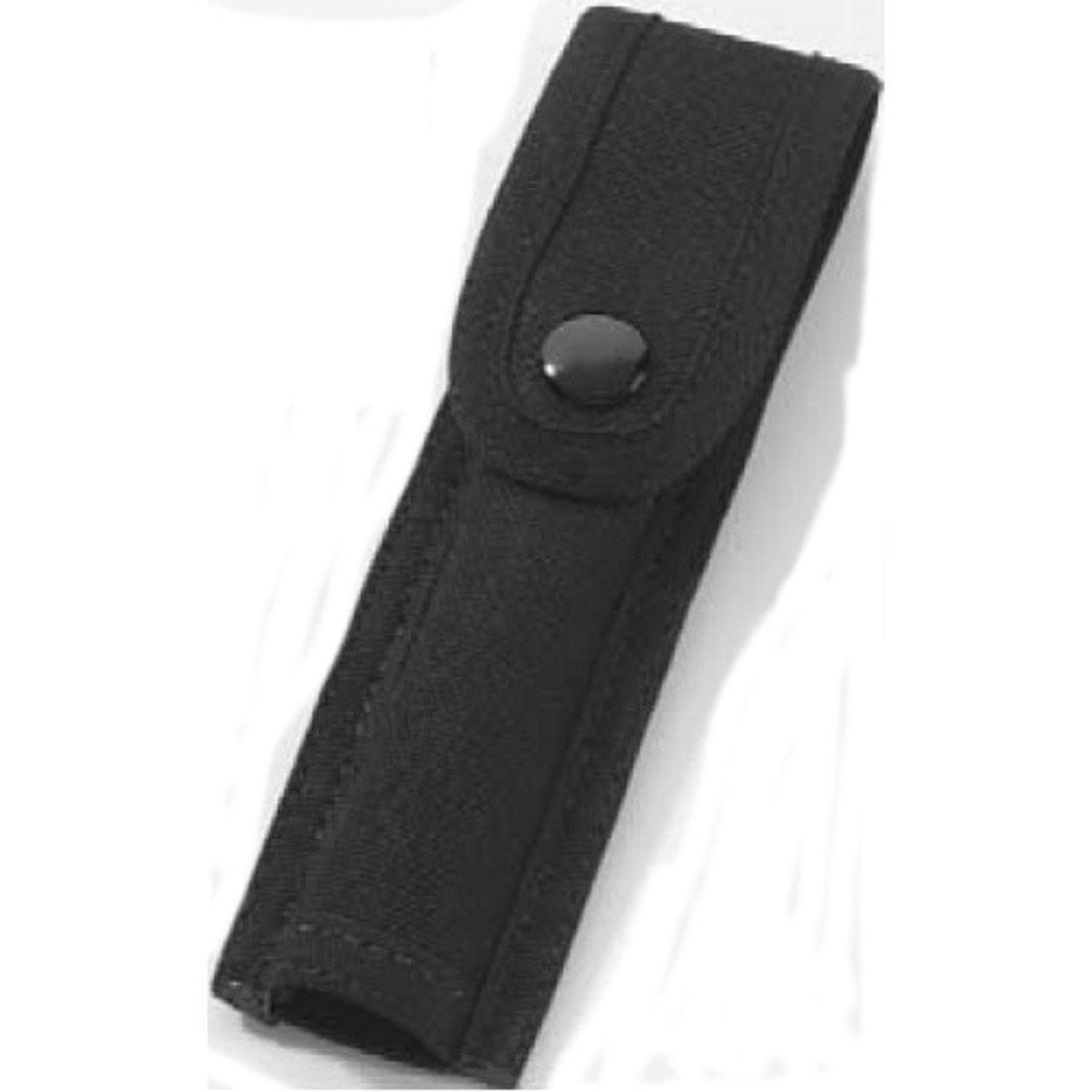 HWC スナップ留めベルトループを備えた光懐中電灯カバーケースホルダーポーチライト警察のセキュリティAAミニマグライト! B001L4B01M