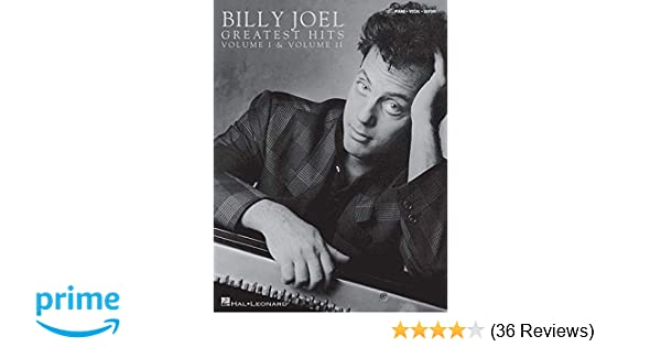 Billy Joel Greatest Hits Volumes 1 And 2 Billy Joel