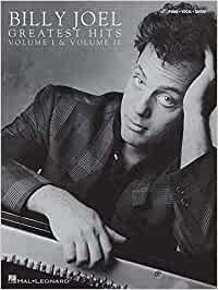 Billy joel - greatest hits, volumes 1 and 2 piano, voix, guitare