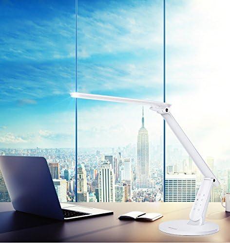 Aluminor Zig N Lampada da scrivania LED Nero Metallo//ABS 10/W incasso