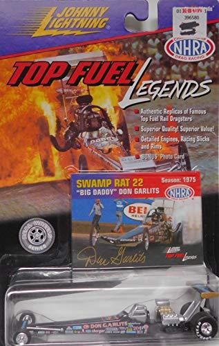(Top Fuel Dragster Big Daddy Don Garlits (Swamp Rat #22) NHRA 1975 Top Fuel Legends Series by Johnny Lightning)