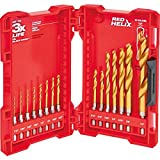 Milwaukee 48-89-4630 Kit TiN Shockwave (15-Piece Titanium)