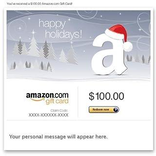 Amazon Gift Card - Email - Happy Holidays (Santa Hat) (B004LLILGE) | Amazon price tracker / tracking, Amazon price history charts, Amazon price watches, Amazon price drop alerts
