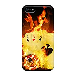 Durable Case For The Iphone 5/5s- Eco-friendly Retail Packaging(pairs Of Aces Hd)