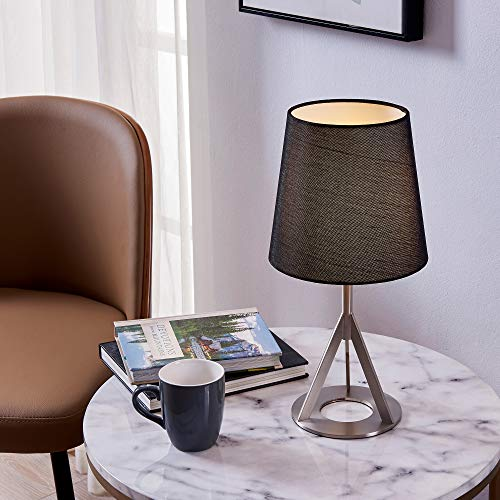 - Versanora VN-L00066B Aria Table Lamps, Nickle Brass Finish