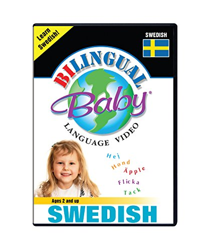 Bilingual Baby Learn Swedish Total Immersion DVD for Babies and Toddlers