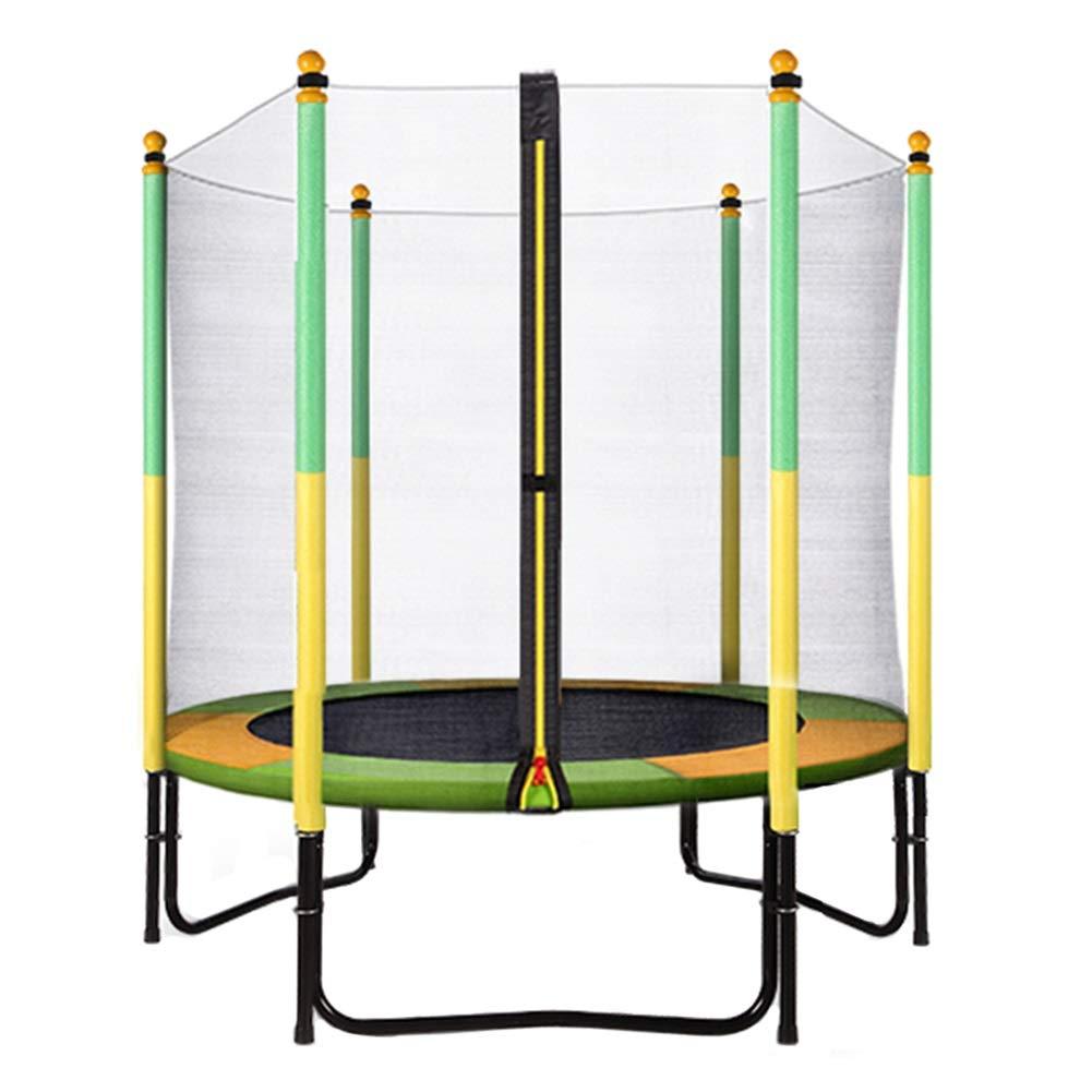 Trampolin, Kindertrampolin mit Sicherheitsnetz, 150 cm Übungshüpfgerät für Innen/Außen - Max Load 200KG