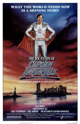 POSTER-THE RETURN OF CAPTAIN INVINCIBLE