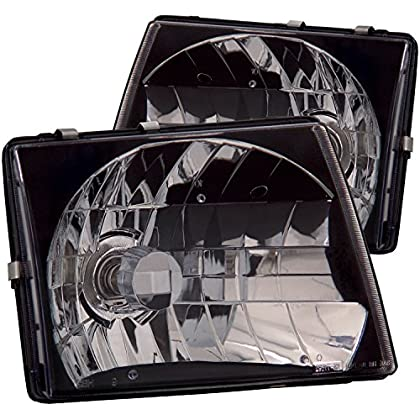Image of Anzo USA 121139 Toyota Tacoma Jdm Black Headlight Assembly - (Sold in Pairs) Headlight Assemblies