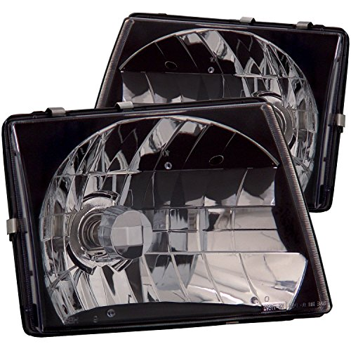 Anzo USA 121139 Toyota Tacoma Jdm Black Headlight Assembly - (Sold in (99 Toyota Tacoma Headlights)