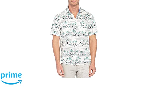 6f376248 Tommy Bahama What The Hula Camp Shirt (Color: Coconut Cream, Size XL) at Amazon  Men's Clothing store: