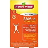 Nature Made SAM-e Complete 400 mg Tablets, 36 Count, Supports a Healthy Mood† (Packaging May Vary)