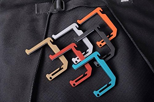 Dango Loop Hook - Heavy Duty Aluminum Multi-Tool for Hanging Accessories