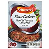 Schwartz Slow Cookers Beef & Tomato Casserole Recipe Mix (40g) - Pack of 6
