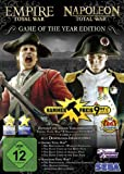 Empire and Napoleon Total War Collection - Game of the Year - German Box / English Game (PC DVD) (輸入版)