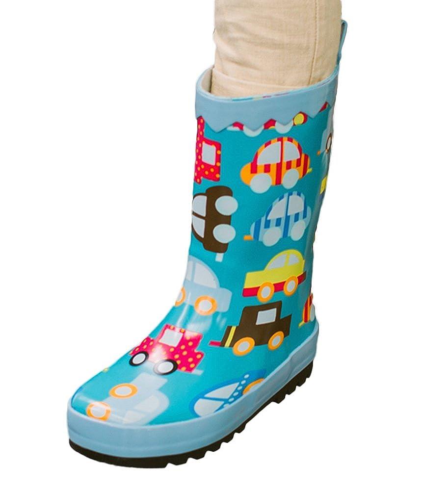 SK Studio Children Rain Boots Fun Pattern Rubber Boots Unisex