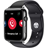 HandsFree Health Smart Watch for Seniors - Medical Alert Systems for Seniors & Elderly - Senior Alert System Smart Watch - GP