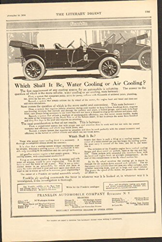 1911 Franklin Motor Car Syracuse NY Auto Ad Landers Household Products from Franklin