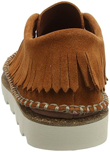 Noir Damara Clarks Femme Mocassins Marron Tan dark Thrill Suede HCwIqwAxvn