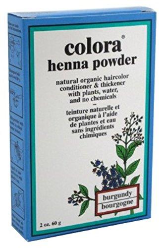 Colora Henna Powder, Burgundy