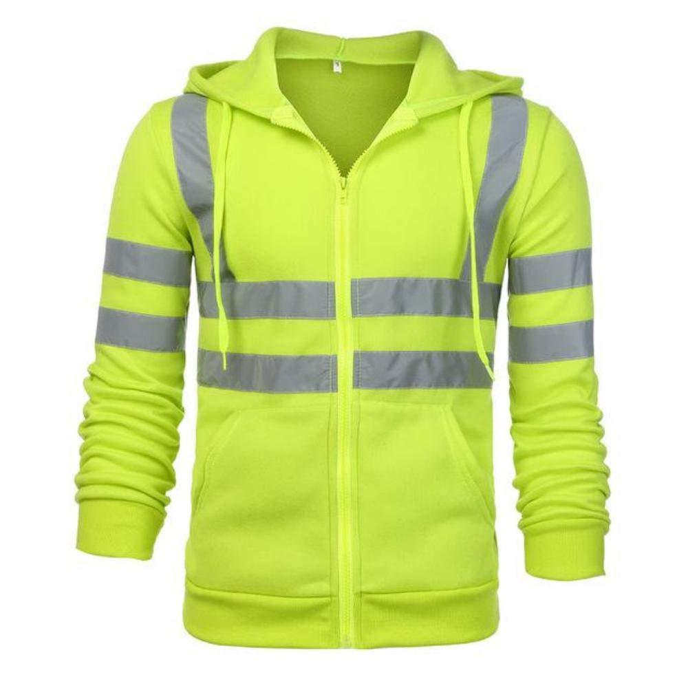 Mens Hoodies Streetwear Road Work Long Sleeve Sweatshirt