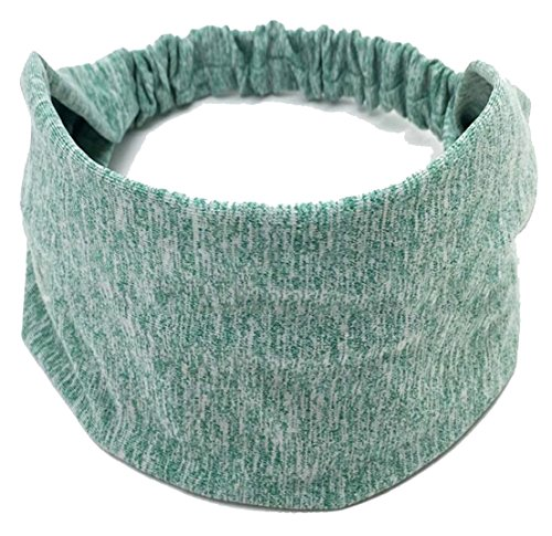 Generic Women Stretchy Head Wrap for Yoga/Cycling/Working Ou