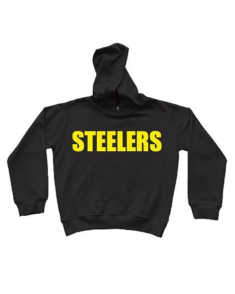 low priced 86374 cc9c7 Amazon.com: PandoraTees Fleece Hoddie - Steelers: Clothing