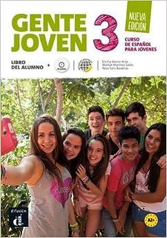 Descargar Gente Joven 3. Nueva Edición. Libro Del Alumno (nivel A2+): Libro Del Alumno + Cd PDF Gratis
