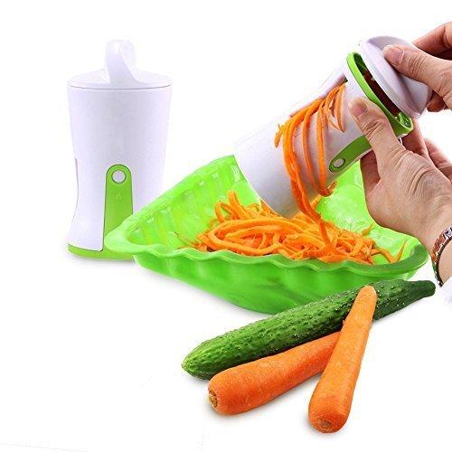 Slicer Oxo- Best Vegetable Cutter wonder vegetable spiralizer- Zucchini Pasta Noodle Spaghetti Maker (Wonder Slicer)