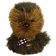 Underground Toys Star Wars Plush - Stuffed Talking 9  Chewbacca Character Plush Toy