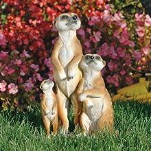 The Meerkat Family Statue