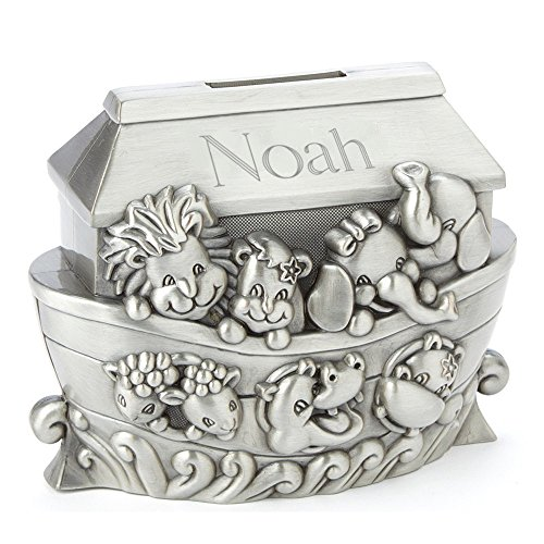 Personalized Noah's Ark Bank