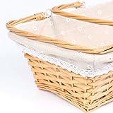 MEIEM Wicker Basket Gift Baskets Empty