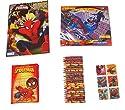 MarvelスパイダーマンアクティビティGiftセット~ Good vs Evil ( SuperカラーリングBook  Lenticularパズル、ステッカー、Journal with Velcroタブ、クレヨン; 5項目、1バンドル)の商品画像