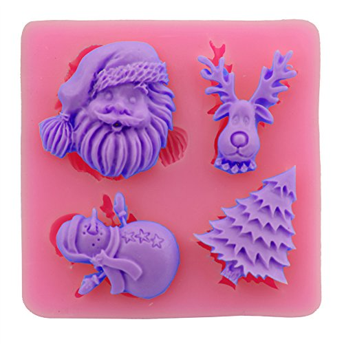 Men Costumes Diy Simple (Let'S Diy Santa Claus Christmas Tree Cake Silicone Mold Fondant Decorating Baking)