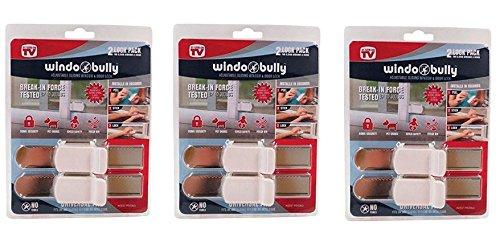 WINDOBULLY WNDW LOCK by WINDO BULLY MfrPartNo 528 (6 pack)