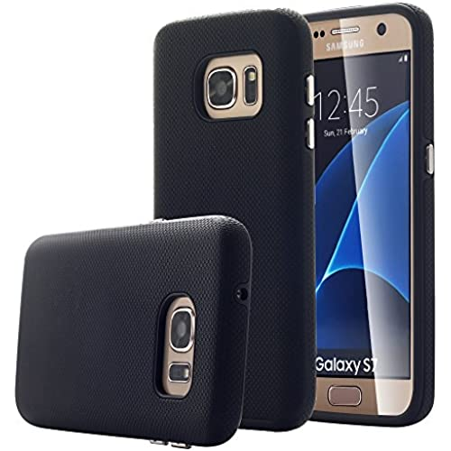 Galaxy S7 Case, Pandawell [Shock Absorbing] [Hard PC + TPU] Dual layer Impact Resistant Hybrid Armor Defender Sales