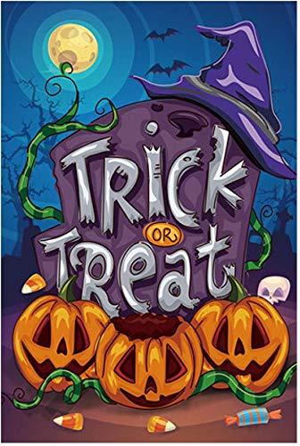 GiftWrap Etc. Trick or Treat Halloween Garden Flag - 12