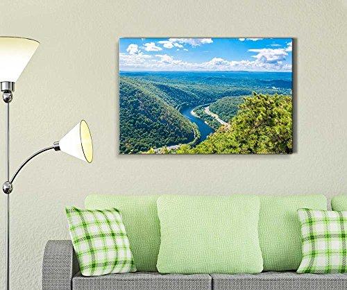 Beautiful Scenery Landscape Delaware Water Gap Wall Decor