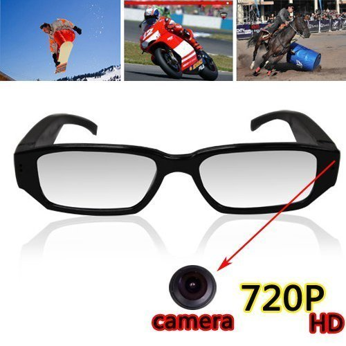 Flylinktech USB2.0 Mini Spy Camera Glasses Eyewear Hidden Camera Video...